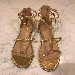 J. Crew Skinny-strap Gladiator Sandals